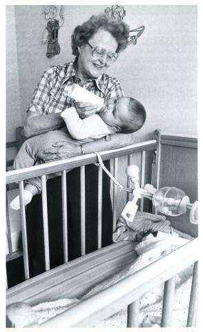 Mary-Helen Richards, founder of the Crisis Nursery