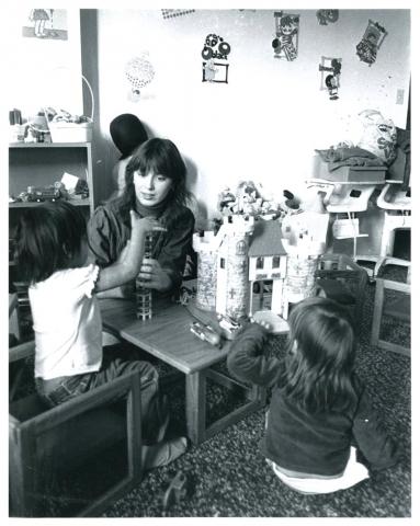 Jane Montgomery, Crisis Nursery Director in 1983