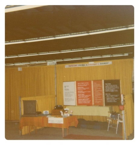 1st location, basement of YWCA
